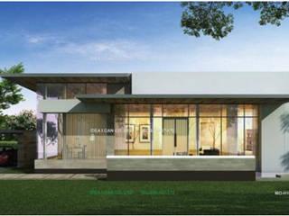 แบบบ้านโมเดิร์น Architect-BKK โดย บริษัท อาร์คิเทค บีเคเค จำกัด