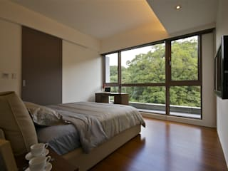Modern style bedroom by 觀林設計 Modern