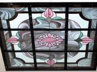 Glasdecke im klassischen Stil von Eszter Nyiri Bleiverglasung Klassisch