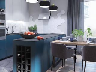 Кухни в . Автор – MIKOLAJSKAstudio, Эклектичный