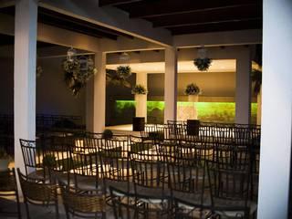 Salão de festas Jardins modernos por Arquitetura CR Moderno