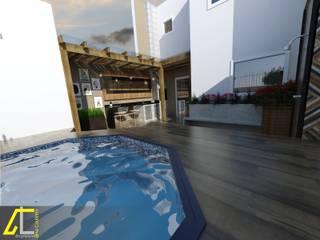 Pool by Ana Coutinho Arquitetura, Rustic