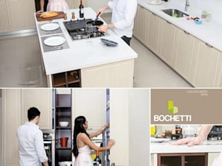 COCINAS BOCHETTI: Cocinas de estilo  por BOCHETTI