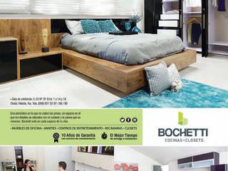 COCINAS BOCHETTI Dormitorios modernos de BOCHETTI Moderno