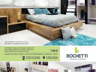 Habitaciones modernas de BOCHETTI Moderno
