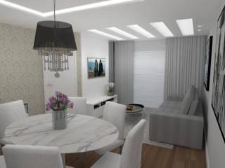 ห้องนั่งเล่น โดย Ana Johns Arquitetura,