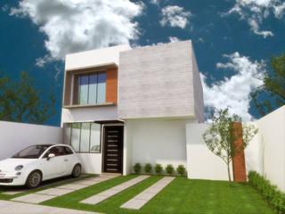 DLR ARQUITECTURA/ DLR DISEÑO EN MADERA Minimalist house