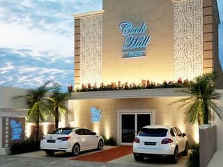 Cook Hall Buffet Santo André: Locais de eventos  por Éfeso Arquitetura & Construção
