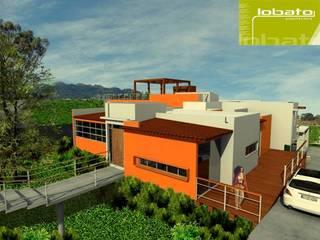 Residencial Fresnito 09 Casas modernas de Lobato Arquitectura Moderno