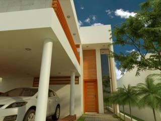Maisons minimalistes par DLR ARQUITECTURA/ DLR DISEÑO EN MADERA Minimaliste