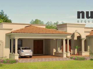 Barreal I: Casas de estilo  por nuk arquitech