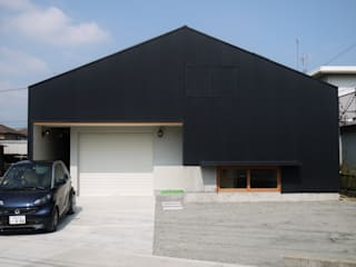 Industrial style houses by 風景のある家.LLC Industrial