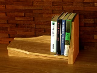 木の家具 quiet furniture of wood EstudioBibliotecas y estanterías Madera