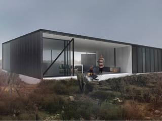 Vivienda Guerrero: Casas de estilo  por Superficie Arquitectura