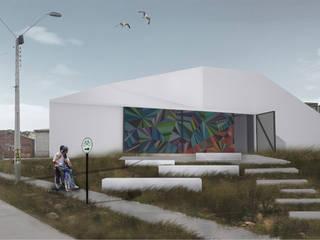 Centro Comunitario Tierras Blancas: Casas de estilo  por Superficie Arquitectura