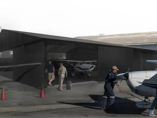 Ampliación Club Aereo La Serena: Casas de estilo  por Superficie Arquitectura