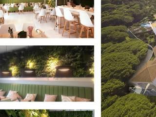 Minimalistische Hotels von Ecossistemas Minimalistisch