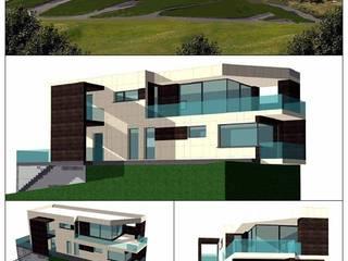 Construcción de una VIVIENDA MODULAR en Asturias Casas de estilo moderno de GPVArquitectos Moderno