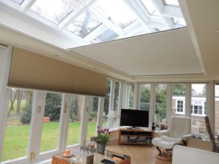 Insulating a north-facing orangery Modern conservatory by WiSER Modern