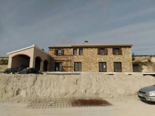 Vivienda unifamiliar ecológica: Casas de estilo mediterráneo de Rimolo & Grosso, arquitectos