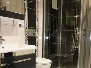 現代浴室設計點子、靈感&圖片 根據 Dekoroba İç Mimari & Dekorasyon 現代風