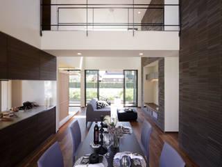 新宮の家 モダンデザインの リビング の 株式会社 SYN空間計画 一級建築事務所 モダン