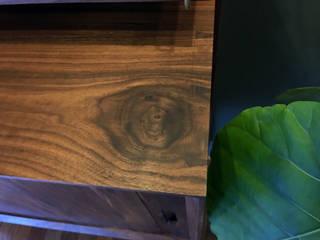 walnut credenza 데이너퍼니쳐 복도, 현관 & 계단의류 고리 및 행거 도자기 메탈릭 / 실버