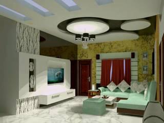Salones de estilo moderno de Fervor design Moderno