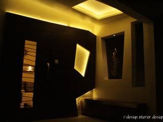 Pasillos, vestíbulos y escaleras de estilo moderno de I - design interior designer's Moderno