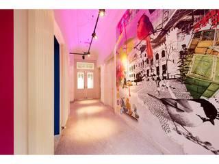 PAUWR Internetmarketing Moderne kantoor- & winkelruimten van Studio'OW Interieurontwerp Modern