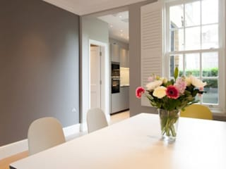 8-9 Kensington Pl, Kensington, London, UK Diamond Constructions Ltd Modern dining room
