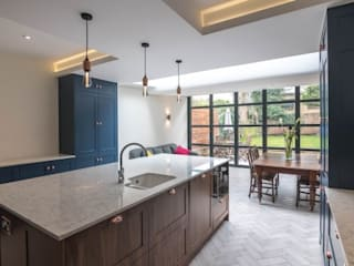 3 Fenwick Grove Modern kitchen by Diamond Constructions Ltd Modern