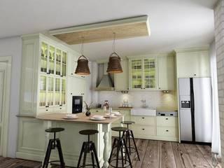 Cuisine de style  par Murat Aksel Architecture