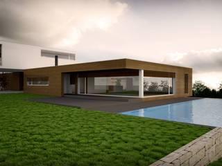 Maisons modernes par Emprofeira - empresa de projectos da Feira, Lda. Moderne