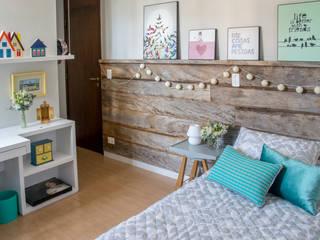 Dormitorios de estilo  de Danyela Corrêa Arquitetura, Moderno