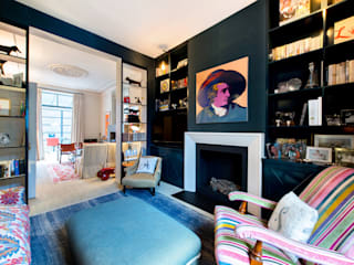 Fulham Road Livings de estilo moderno de Orchestrate Design and Build Ltd. Moderno