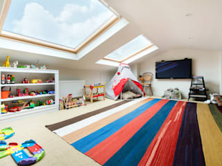 Netherton Grove Dormitorios infantiles de estilo moderno de Orchestrate Design and Build Ltd. Moderno