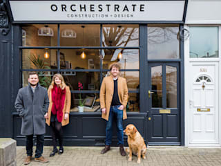 Orchestrate Office, Battersea de Orchestrate Design and Build Ltd. Escandinavo