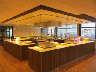 TRANSFORMATIE KANTOORPANDEN: moderne Keuken door Gradussen Bouwkunst & Interieurarchitectuur BNA BNI