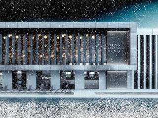 Negozi & Locali commerciali moderni di A F B Mimarlık İç Mimarlik Tasarım Moderno