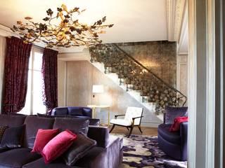 de le verre appliqué à la décoration et à l'architecture Moderno