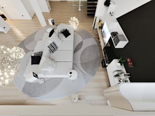 Modern living room by Annalisa Carli Modern