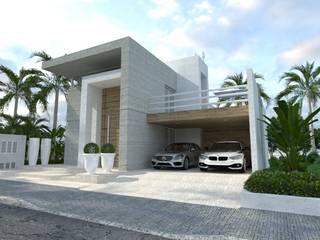 Casa Embu das Artes Casas modernas por DRG ARQUITETURA Moderno