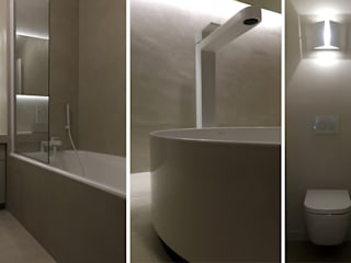 Modern style bathrooms by AGENCE APOLLINE TERRIER Modern