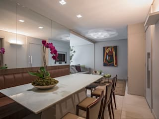 Apto Lourdes:   por Rachel Ramos Arquitetura e Interiores