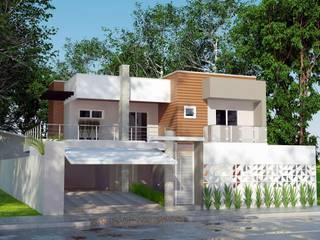 Дома в стиле модерн от Grafite - Arquitetura e Interiores Модерн