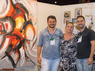 Studio do Arquiteto - Feira Construir Goiânia 2016: Espaços comerciais  por Marcos Gouvêa Arquitetura