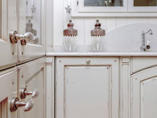 de casa&stile interior design e ristrutturazioni Rústico