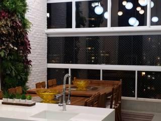 Apartamento Parque House Flamboyant -  Goiânia/GO:   por Marcos Gouvêa Arquitetura