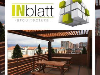 Diseño y Construcción Area Social Reserva de Mallorca Et. I Balcones y terrazas de estilo moderno de INblatt _Arquitectura Moderno